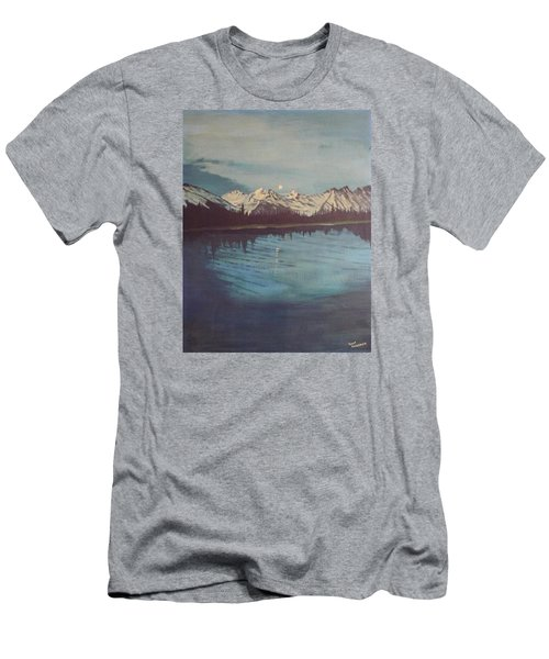 Telequana Lk Ak Men's T-Shirt (Slim Fit) by Terry Frederick