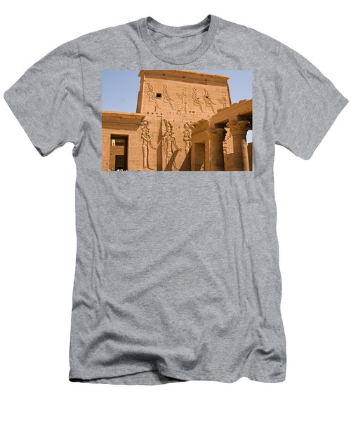 Temple Exterior Men's T-Shirt (Athletic Fit)