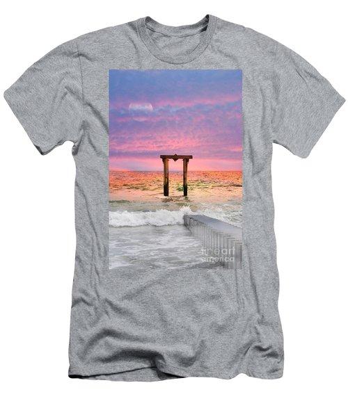 The Seas Temple Men's T-Shirt (Athletic Fit)