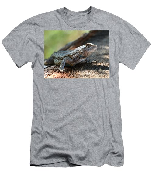 Texas Lizard Men's T-Shirt (Athletic Fit)