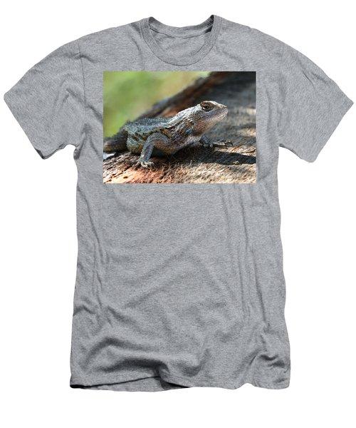 Texas Lizard Men's T-Shirt (Athletic Fit)