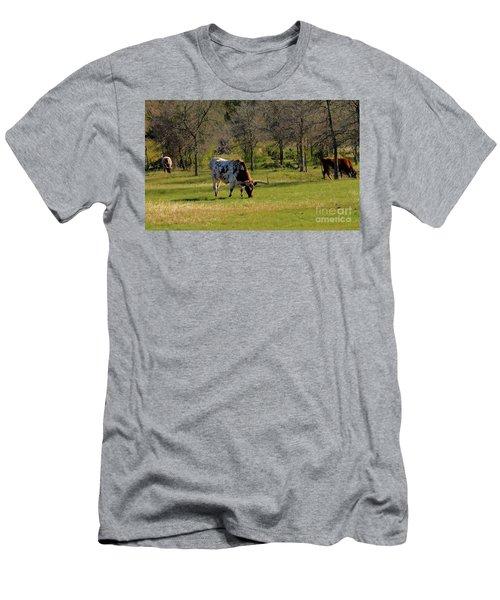 Texas Longhorns Men's T-Shirt (Athletic Fit)