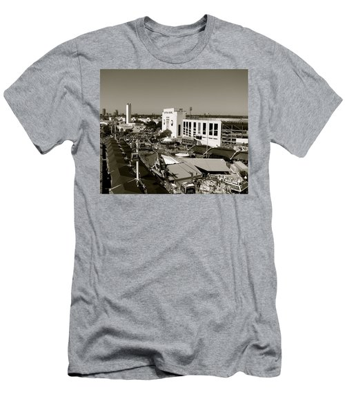 Texas State Fair II Men's T-Shirt (Slim Fit) by Anita Lewis