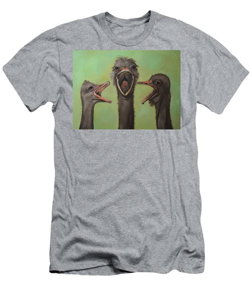 The 3 Tenors Men's T-Shirt (Slim Fit) by Leah Saulnier The Painting Maniac