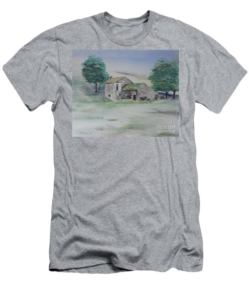 The Abandoned House Men's T-Shirt (Slim Fit) by Martin Howard