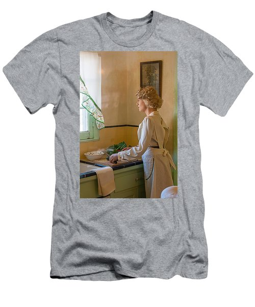 Men's T-Shirt (Athletic Fit) featuring the photograph The American Dream by Gunter Nezhoda