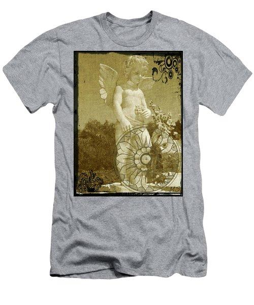 The Angel - Art Nouveau Men's T-Shirt (Slim Fit) by Absinthe Art By Michelle LeAnn Scott