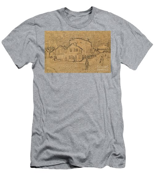 The Artists House In Arles Men's T-Shirt (Athletic Fit)