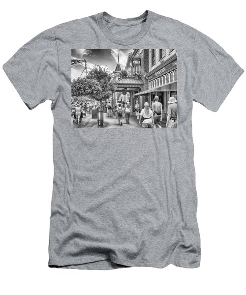 Men's T-Shirt (Athletic Fit) featuring the photograph The Bakery by Howard Salmon
