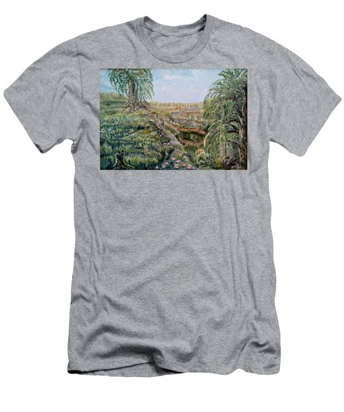 The Beauty Of A Marsh Men's T-Shirt (Athletic Fit)