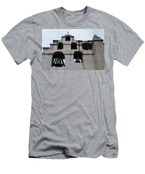The Bells Of Mission San Gabriel Arcangel Men's T-Shirt (Athletic Fit)