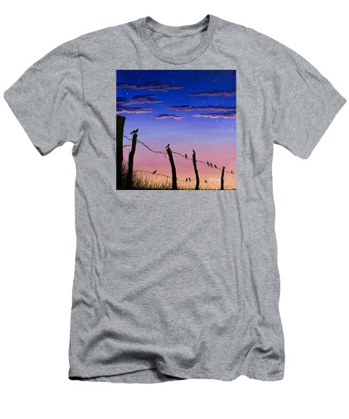 The Birds - Morning Has Broken Men's T-Shirt (Athletic Fit)