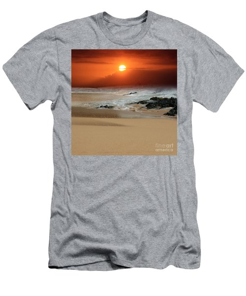 The Birth Of The Island Men's T-Shirt (Slim Fit) by Sharon Mau