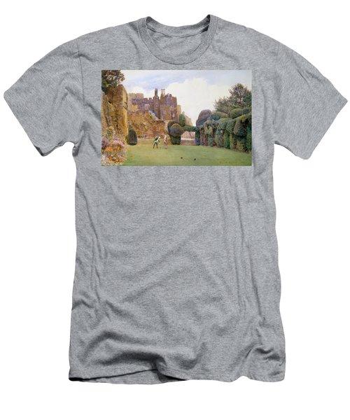 The Bowling Green, Berkeley Castle Men's T-Shirt (Athletic Fit)