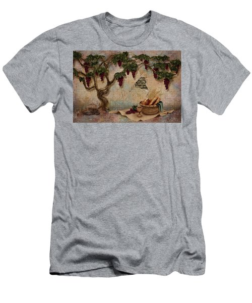 The Bread And The Vine Men's T-Shirt (Athletic Fit)