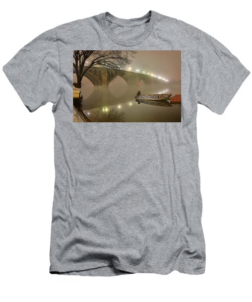 The Bridge To Nowhere Men's T-Shirt (Athletic Fit)