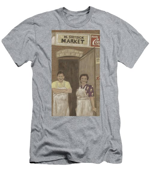 The Butcher And His Wife  Men's T-Shirt (Athletic Fit)