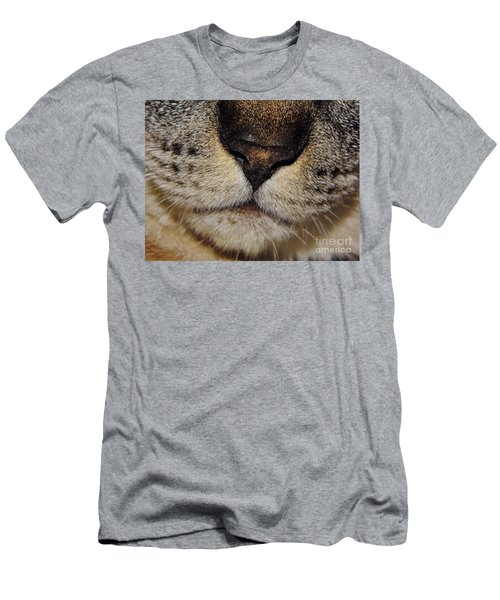 The - Cat - Nose Men's T-Shirt (Athletic Fit)