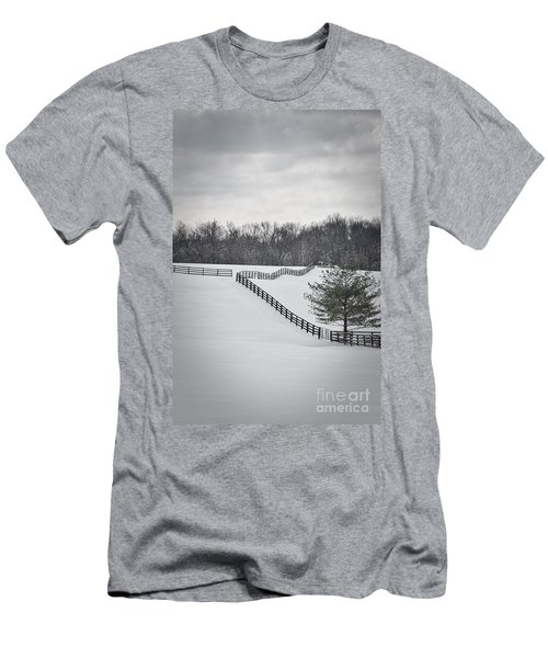 The Color Of Winter - Bw Men's T-Shirt (Athletic Fit)