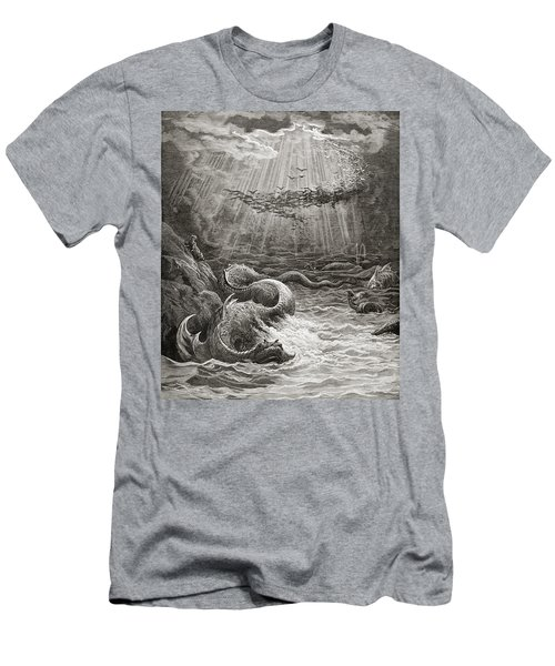 The Creation Of Fish And Birds Men's T-Shirt (Athletic Fit)