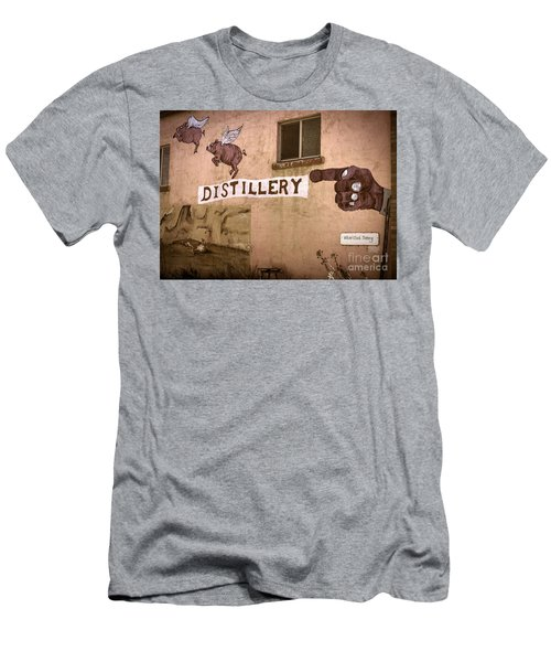 The Distillery Men's T-Shirt (Slim Fit) by Janice Rae Pariza