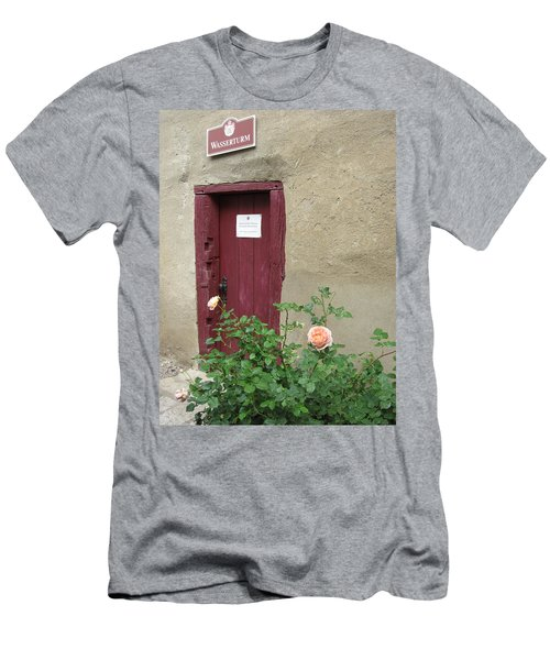 Men's T-Shirt (Slim Fit) featuring the photograph The Doorway by Pema Hou