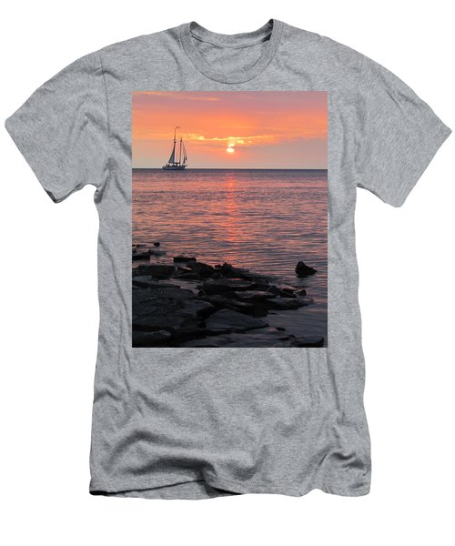 The Edith Becker Sunset Cruise Men's T-Shirt (Athletic Fit)