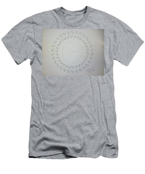 The Eye Of Pi Men's T-Shirt (Athletic Fit)