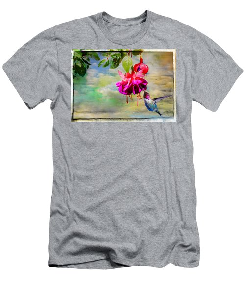 The Face Of Fuchsia Men's T-Shirt (Athletic Fit)