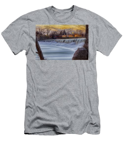 The Falls Of White River Men's T-Shirt (Athletic Fit)