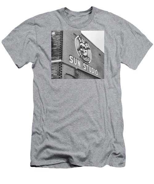 The Famous Sun Studio In Memphis Tennessee Men's T-Shirt (Athletic Fit)