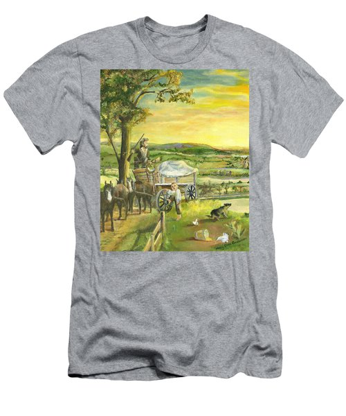 The Farm Boy And The Roads That Connect Us Men's T-Shirt (Athletic Fit)