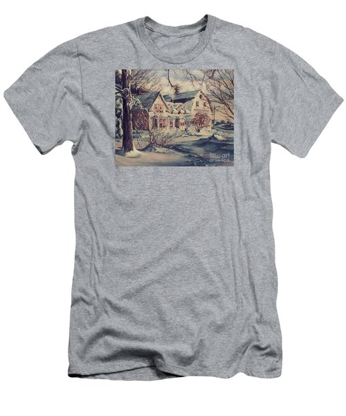 The Farm Men's T-Shirt (Slim Fit) by Joy Nichols
