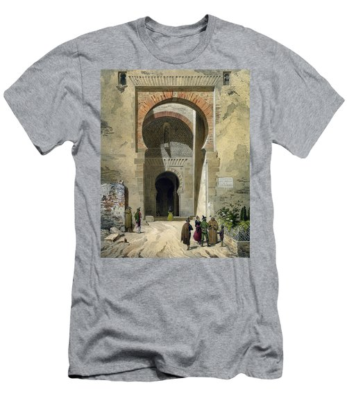 The Gate Of Justice Men's T-Shirt (Athletic Fit)
