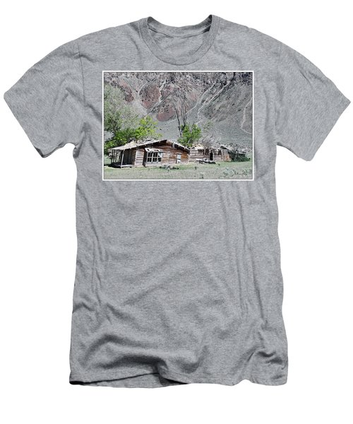 The Grass Is Greener When It's Growing On The Roof Men's T-Shirt (Athletic Fit)