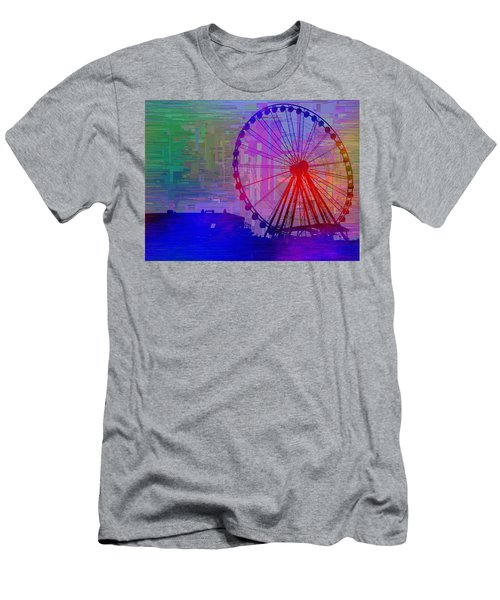 The Great  Wheel Cubed Men's T-Shirt (Athletic Fit)
