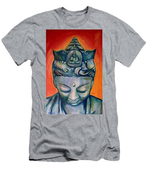 Men's T-Shirt (Athletic Fit) featuring the painting The Healer 2 by Blake Emory