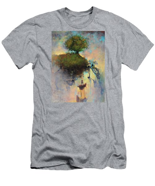 The Hiding Place Men's T-Shirt (Slim Fit) by Joshua Smith