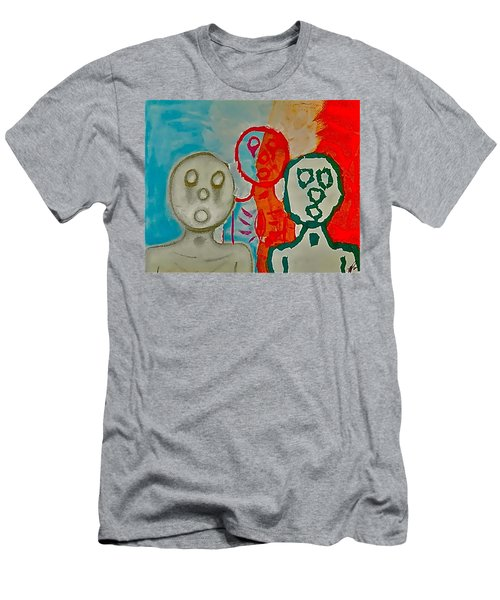 The Hollow Men 88 - Study Of Three Men's T-Shirt (Athletic Fit)
