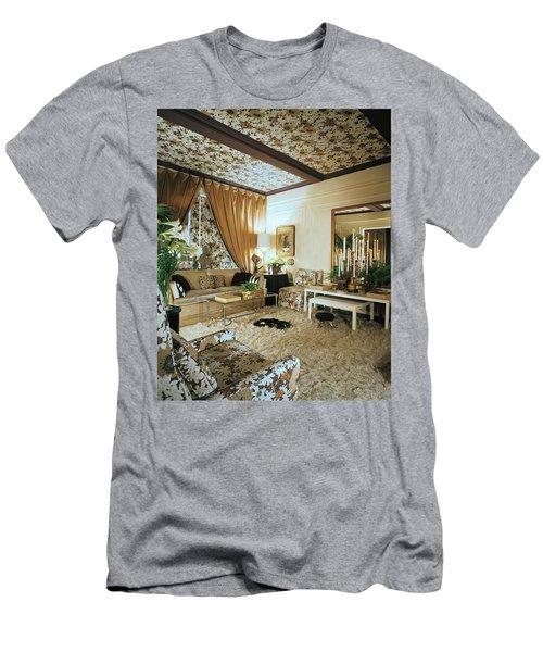 The Living Room Of Leoda De Mar's Home Men's T-Shirt (Athletic Fit)