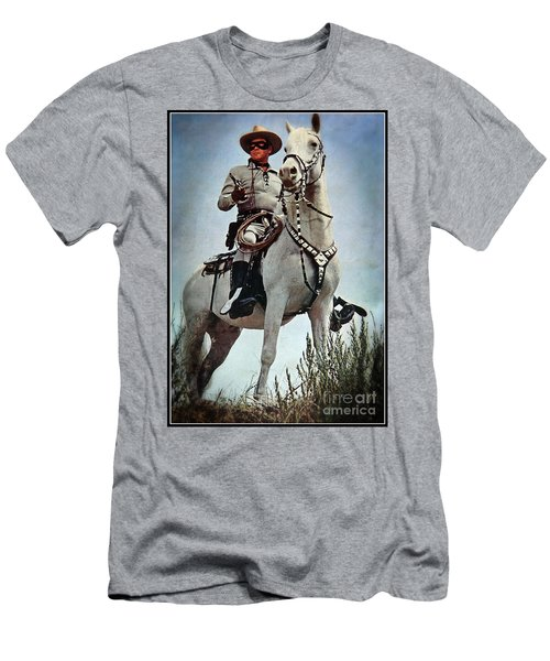 The Lone Ranger Men's T-Shirt (Slim Fit) by Bob Hislop