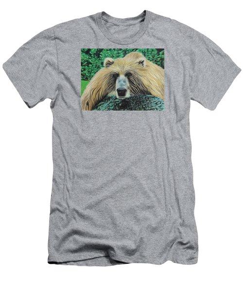 The Look Men's T-Shirt (Slim Fit) by Jeanne Fischer