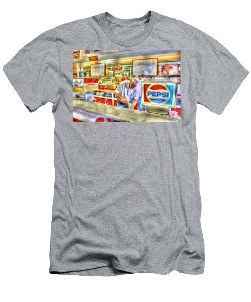 The Malt Shoppe Men's T-Shirt (Athletic Fit)