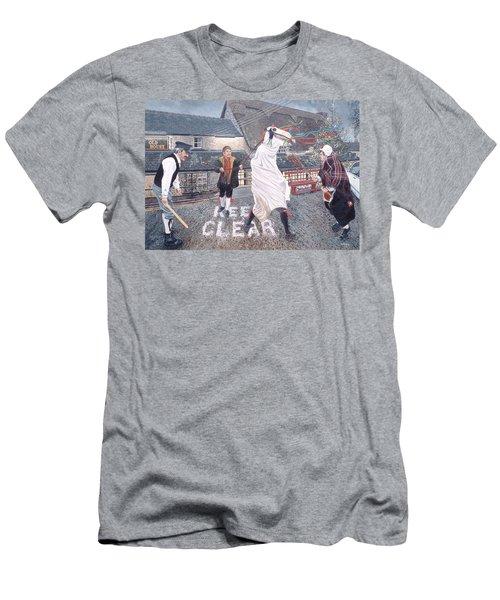 The Marie Llwyd At Llangynwyd, 1996 Oil On Board Men's T-Shirt (Athletic Fit)