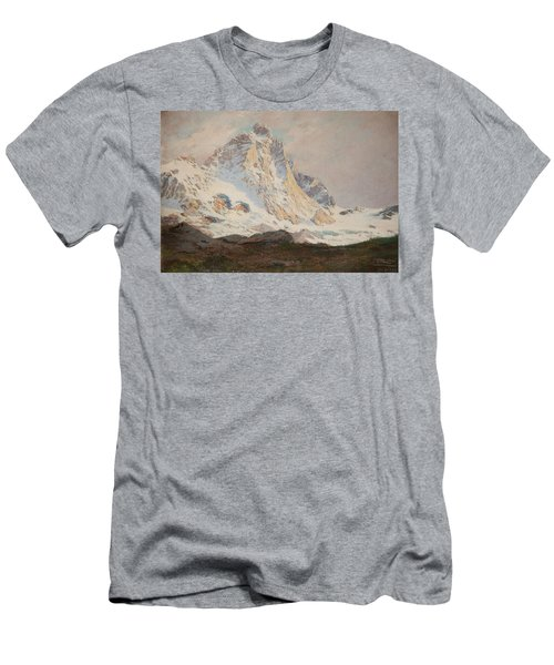 The Matterhorn, 1910 Men's T-Shirt (Athletic Fit)