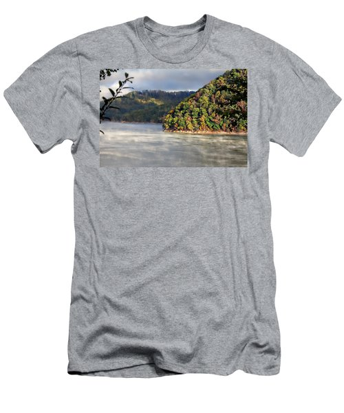 The Mists Of Watauga Men's T-Shirt (Slim Fit) by Tom Culver
