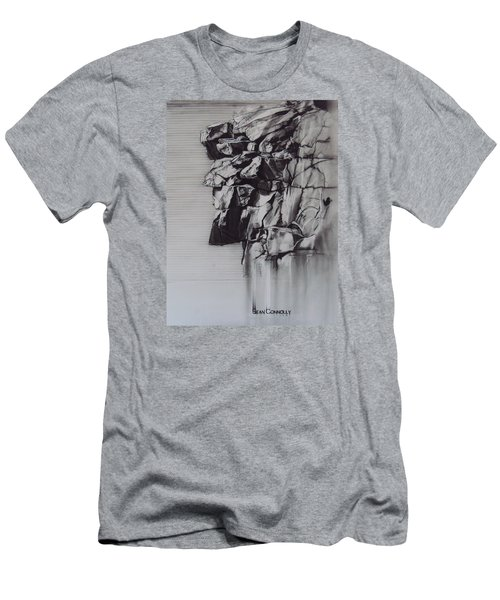 The Old Man Of The Mountain Men's T-Shirt (Slim Fit) by Sean Connolly