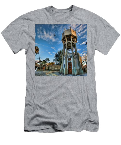 The Old Water Tower Of Tel Aviv Men's T-Shirt (Athletic Fit)