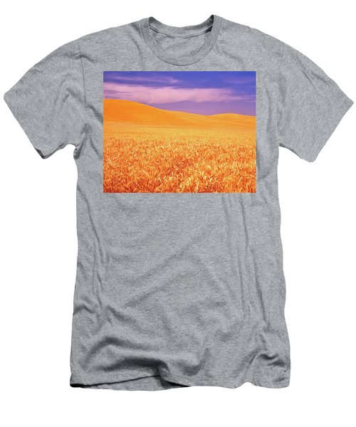 The Palouse Steptoe Butte Men's T-Shirt (Athletic Fit)
