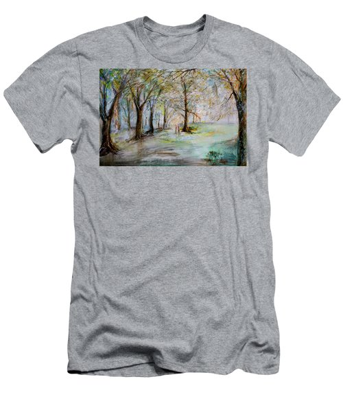 The Park Bench Men's T-Shirt (Athletic Fit)